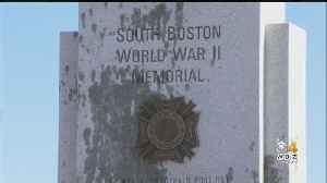 World War II Memorial In South Boston Covered In Oil By Vandals [Video]