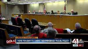 Independence council to vote on travel policy [Video]