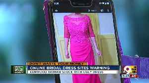 Online bridal shops like Magbridal can be an ugly waste of time [Video]