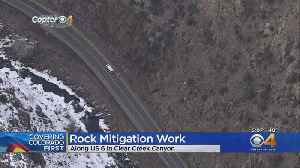 Rockfall Mitigation Work To Continue On U.S. 6 [Video]