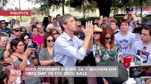 Beto O'Rourke Is Flush With Fundraising Cash [Video]