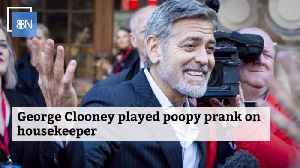 George Clooney Likes To Prank The Housekeeper [Video]