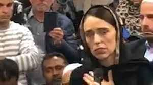 Jacinda Ardern Wears a Hijab While Visiting Christchurch Shooting Survivors [Video]