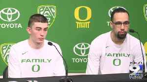 Oregon players on selection sunday part two (3/17/19) [Video]