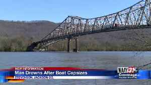 Jackson County man drowns after boat capsizes [Video]