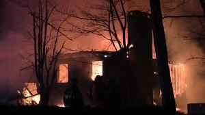 VIDEO Fire destroys home in Stroud Township [Video]