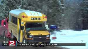 Four Bellamy Elementary students, driver injured following Lee school bus crash [Video]