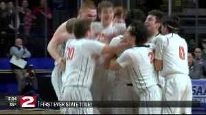 Cooperstown celebrates first ever state title in boys basketball [Video]