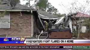 Firefighters fight flames on a Pass Christian home [Video]