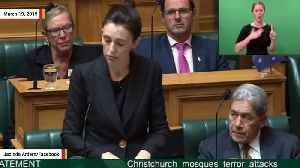 Jacinda Ardern Says She'll Never Use Accused Mosque Gunman's Name To Deny Him Notoriety [Video]