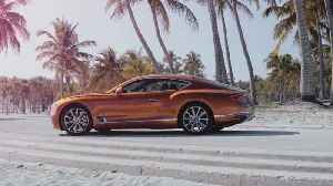 Bentley Continental GT V8 Coupe Preview in Orange Flame [Video]
