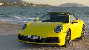Porsche 911 Carrera 4S Cabriolet Design in Racing Yellow [Video]
