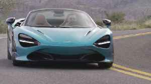 McLaren 720S Spider in Belize Blue Driving Video [Video]