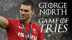 George North | Game of tries [Video]