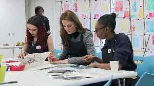 Duchess of Cambridge becomes Patron of Foundling Museum [Video]