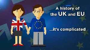 Video explainer: A history of the rocky relationship between the UK and EU [Video]