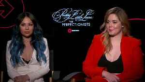 'Pretty Little Liars: The Perfectionists' Exclusive Interview [Video]