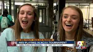 NKU students following their team to NCAA tournament [Video]