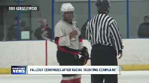 Fallout continues after accusations of  racial taunting in youth hockey game [Video]