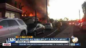 2 fires erupt a block apart in Chula Vista [Video]