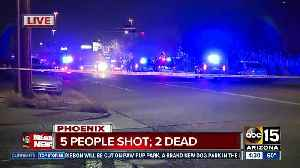 Five shot, two dead near 27th and Dunlap avenues [Video]