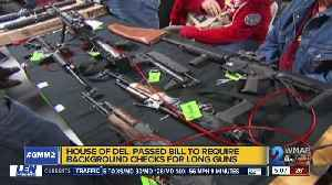 Bill requiring background checks for guns advances passes the House [Video]