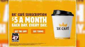 Burger King offers $5 coffee subscription [Video]