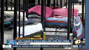 San Diego City Council could declare homeless shelter crisis [Video]
