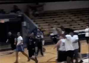 High Schooler With Disability Nails Half-Court Shot [Video]