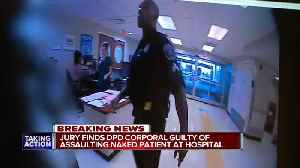 Jury finds DPD corporal guilty of assaulting naked mental health patient at hospital [Video]