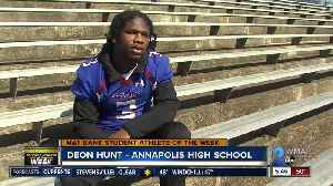 Student Athlete of the Week - Deon Hunt [Video]
