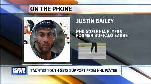 NHL player throwing support behind taunted youth from Amherst Youth Hockey team. [Video]