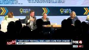 Curing cancer discussed at Naples NEXT Ideas Festival [Video]