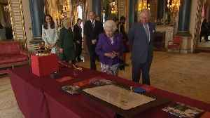 News video: The royal family celebrate the 50th anniversary of Prince Charles' investiture