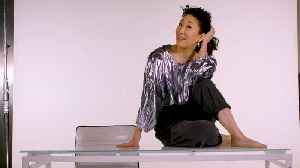 Woman with Desk and Chair: Sandra Oh Teaches You How To Kill It [Video]