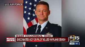Decorated F-35 pilot killed in plane crash [Video]