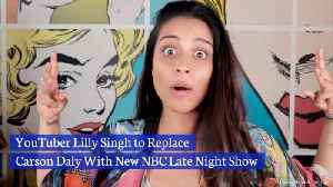 A YouTuber Takes Over Late Night Entertainment [Video]