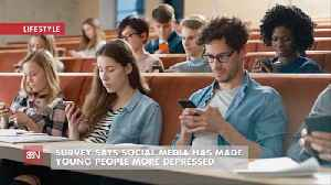 News video: Maybe Social Media Hasn't Been A Benefit For Young People Overall