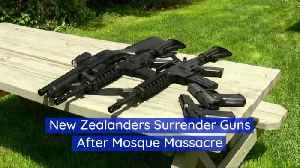 News video: New Zealanders Are Turning In Guns Willingly After Massacre