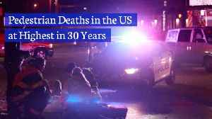 Be Careful As Pedestrian Deaths Are Rising Rapidly [Video]