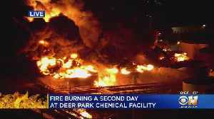 Shelter-In-Place Lifted Around Houston-Area Petrochemicals Plant Fire [Video]