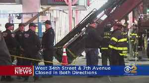 Crane Collapse Closes Streets In Midtown [Video]