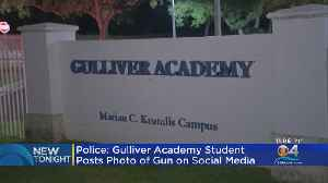 Police Looking Into Gulliver Student Posting Gun Photo On Social Media [Video]