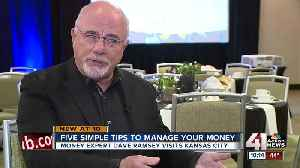 Dave Ramsey brings finance tips to KC metro churches [Video]