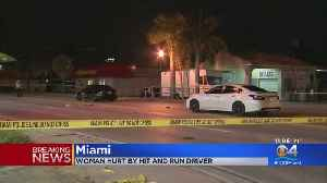 Police Searching For Hit & Run Driver That Sent Pedestrian To Hospital [Video]