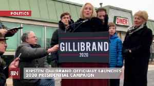 Kirsten Gillibrand Makes It Official [Video]