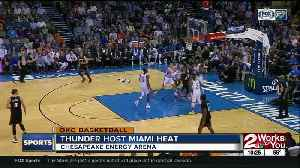 Thunder Lose to Heat 116-107 [Video]