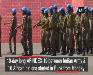 Indian Army holds military exercise AFINDEX with 16 African nations in Pune [Video]