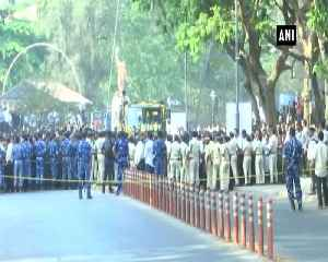 Last journey of late Goa CM Manohar Parrikars begin with full military honour [Video]