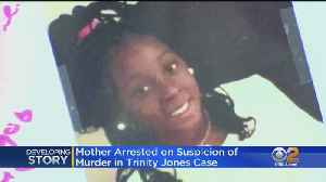 Mother Booked In Death Of Trinity Love Jones [Video]